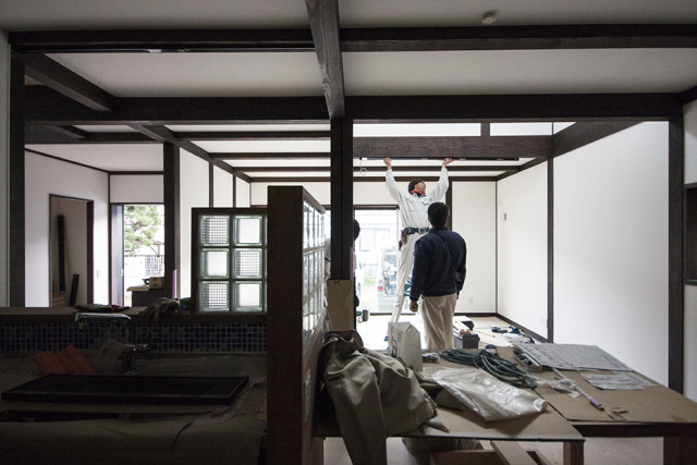 茅ヶ崎市の古民家住宅③みかんの出荷量とこたつの関係