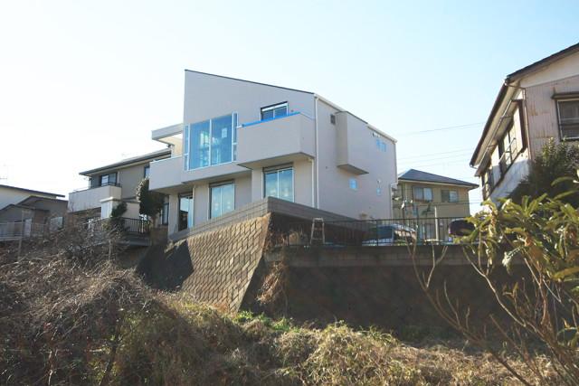 戸塚区の完全分離型二世帯住宅②眺めが最高です