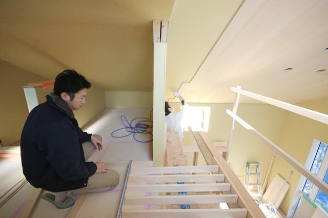 戸塚区の完全分離型二世帯住宅①手すりの検討