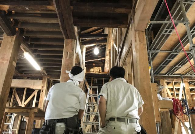 鎌倉の家の「階段」