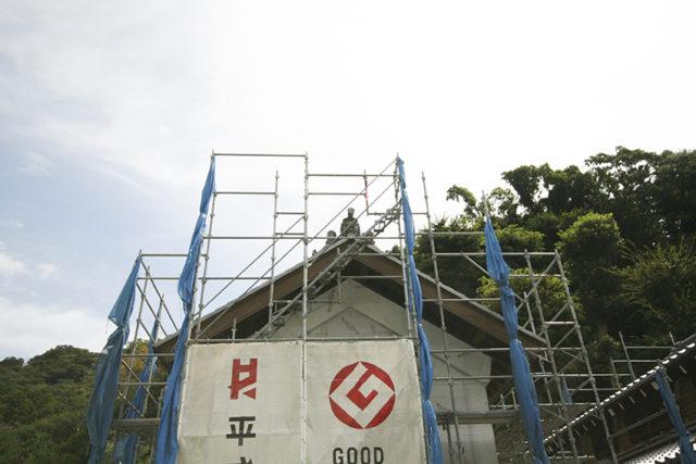 鎌倉の家の「瓦」