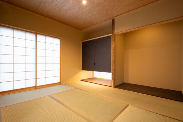 北鎌倉の家⑨「和室」