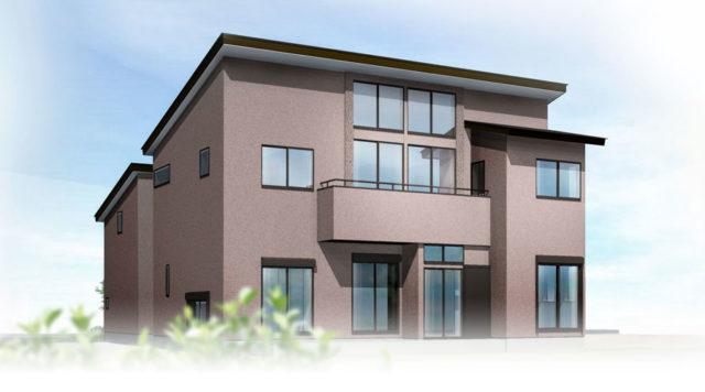 親子それぞれのご希望を叶えた「完全分離型二世帯住宅」まもなく完成です!