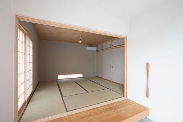 庭先アウトドアの家⑪「和室」