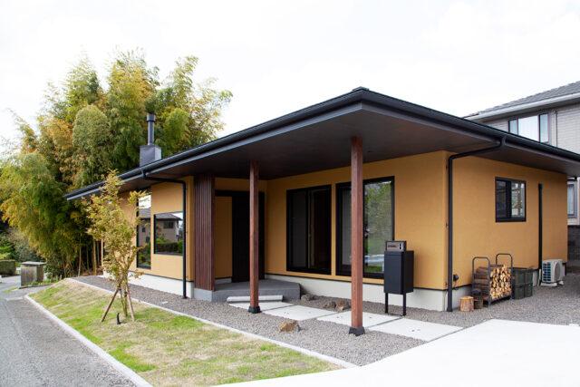 建築事例②薪ストーブのある古民家風平屋