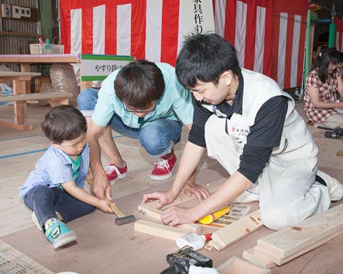 静岡大工教室開催中です