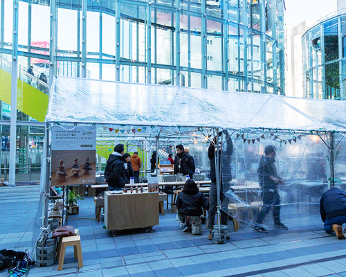 渋南マーケットにてワークショップ開催中です!