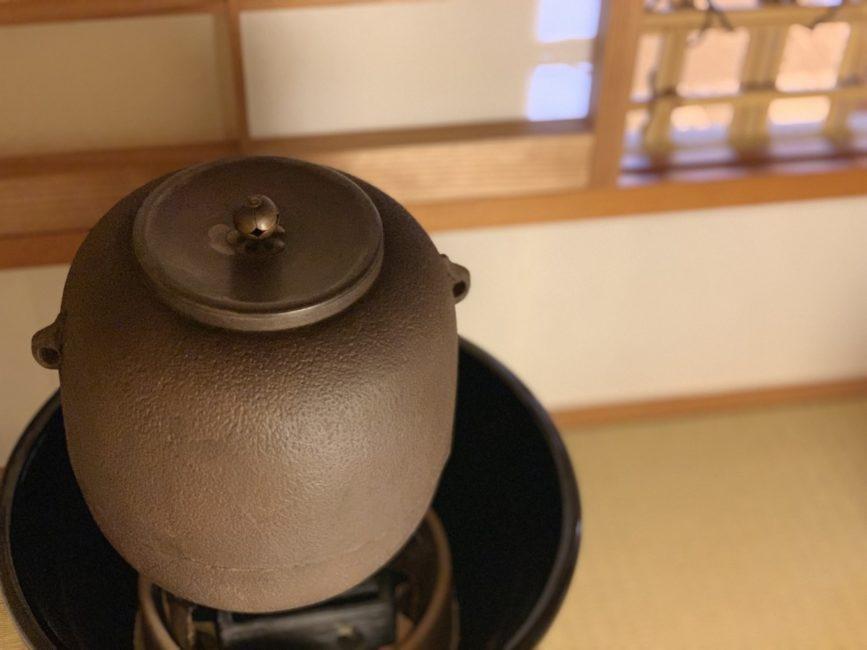 ショールームで茶道体験