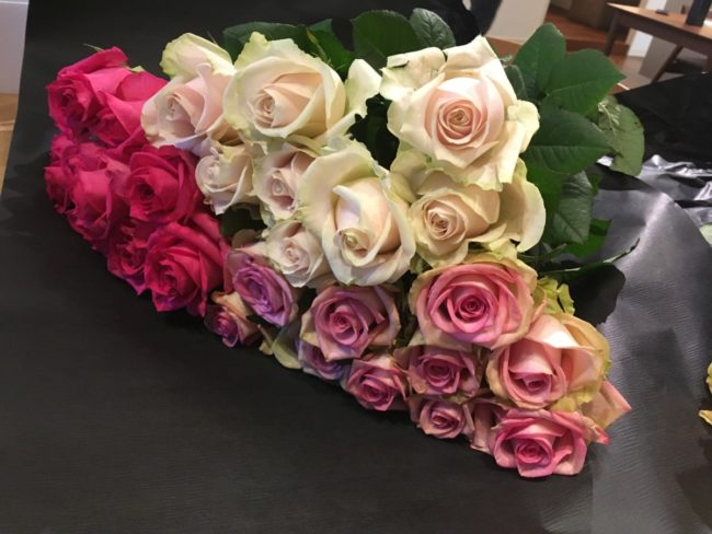 MILK FLOWERSさんからお花をいただきました
