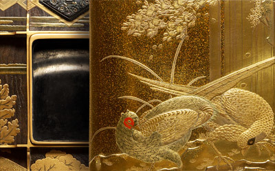 「明治・大正の木彫と蒔絵」展