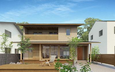 木かげの家構造見学会